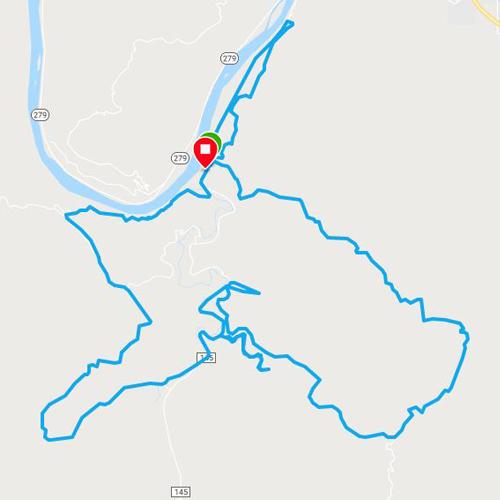 moab trail marathon route