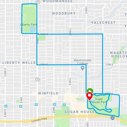 Parks Run in Salt Lake City