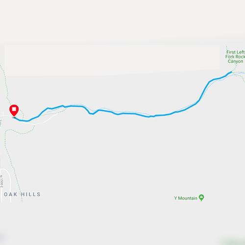 rock canyon trail in provo utah