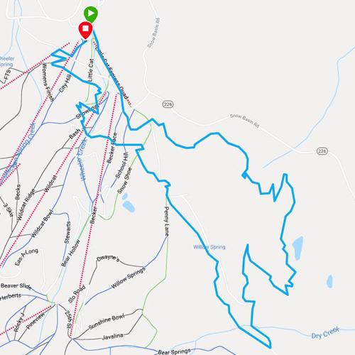 xterra nationals running route in ogden utah